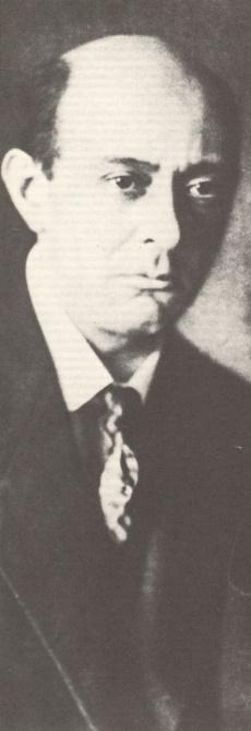 Arnold SCHOENBERG, Photo de presse Universal, date et photographe inconnus