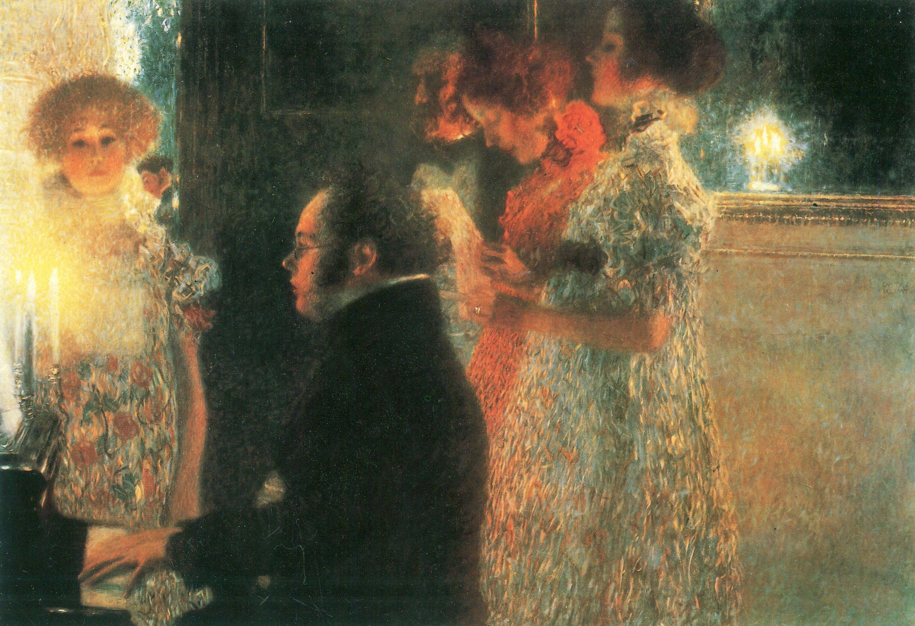 Franz SCHUBERT vu par Gustav KLIMT en 1899