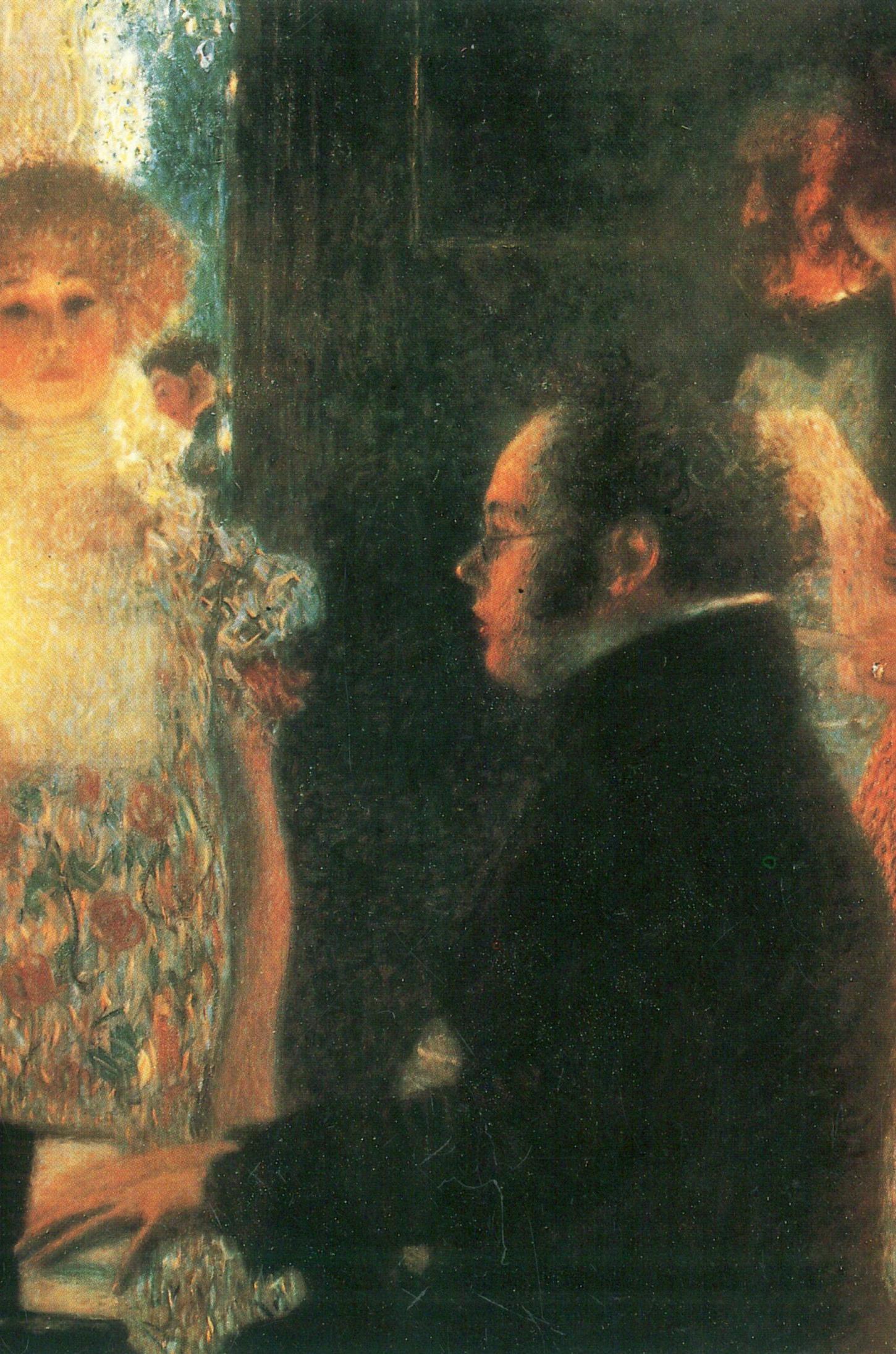 Franz SCHUBERT vu par Gustav KLIMT en 1899, extrait