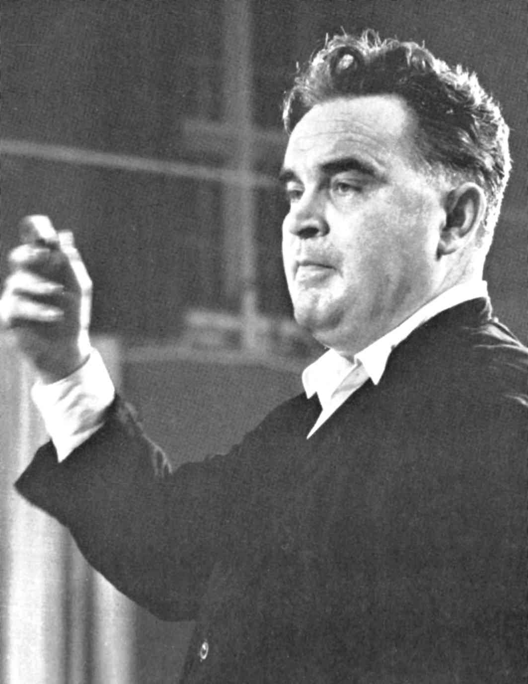 Wilhelm Schüchter en 1958. Copyright Dortmunder Theatersammlung, tous droits réservés
