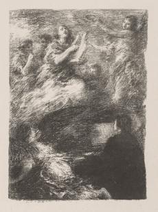 Last Theme of Robert Schumann, 1895. Henri Fantin-Latour (French, 1836-1904). Lithograph; The Cleveland Museum of Art, Gift of Ralph King 1921.69 (https://archive.org/details/clevelandart-1921.69-last-theme-of-robert, https://www.clevelandart.org/art/1921.69), Cliquer sur la photo pour voir l'original