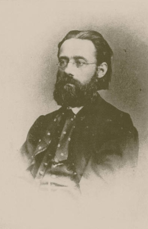 Bedrich SMETANA vers 1866, lieu, date exacte et photographe inconnus