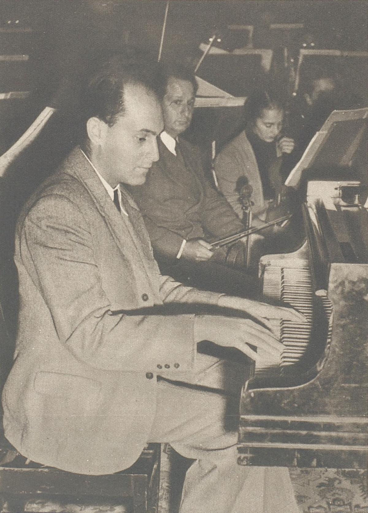 Georg SOLTI, publié dans L'Illustré du 15 octobre 1942, No 42, page 1371, cliquer pour une vue agrandie