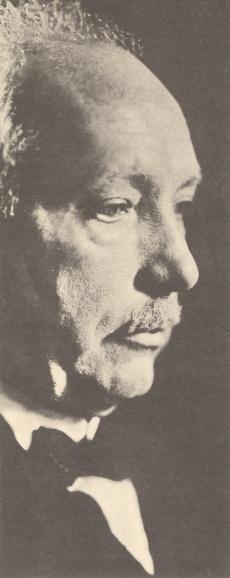 Richard STRAUSS, portrait publié entre autres sur le disque LHMV 19