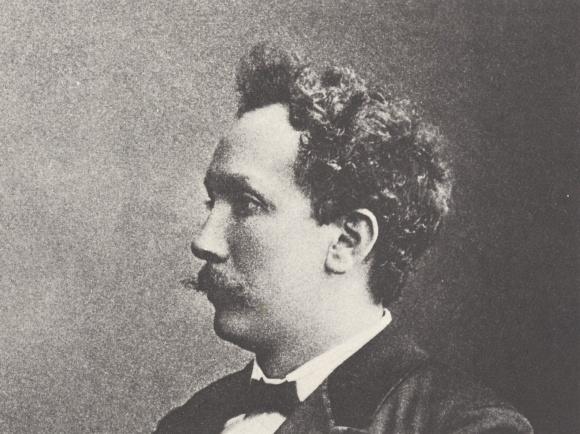 Richard STRAUSS, date exacte et auteur du portrait inconnus, probablement entre 1890 et 1900
