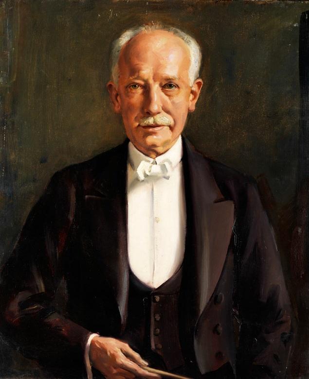 Richard STRAUSS, une peinture de Max Rimboeck, Cliquer sur la photo pour une vue agrandie