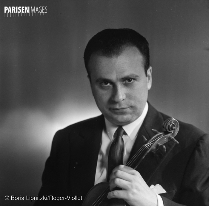 N° du document: 73344-20, Henryk Szeryng, Paris, 1960, ParisEnImages © Boris Lipnitzki/Roger-Viollet