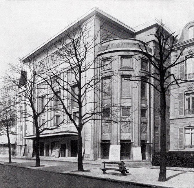 Le Théâtre des Champs-Élysées en 1925