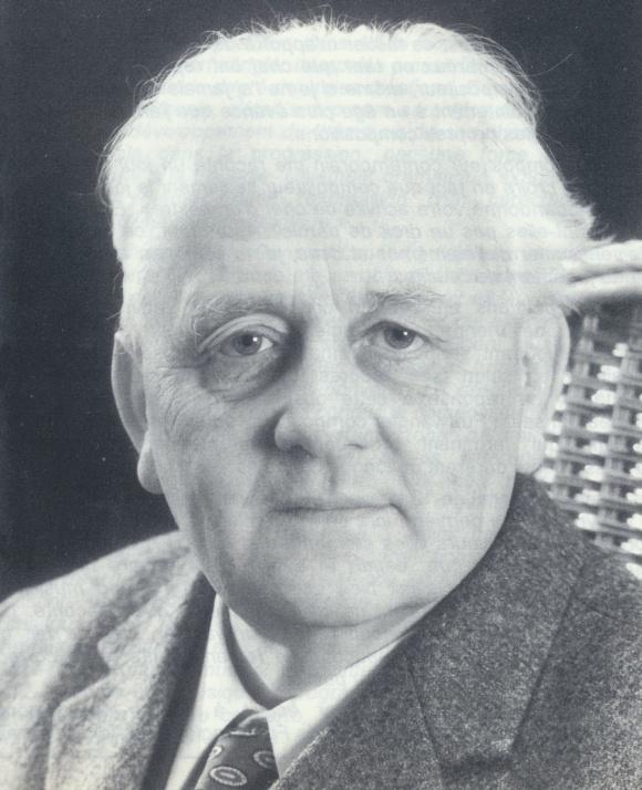 Erik THEN-BERGH, portrait provenant des archives de Gerda Then-Bergh, lieu, date et photographe inconnus