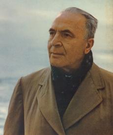 Bruno WALTER dans le début des années 1950, extrait d'un portrait publié par exemple sur la pochette du disque Masterworks M2L 273