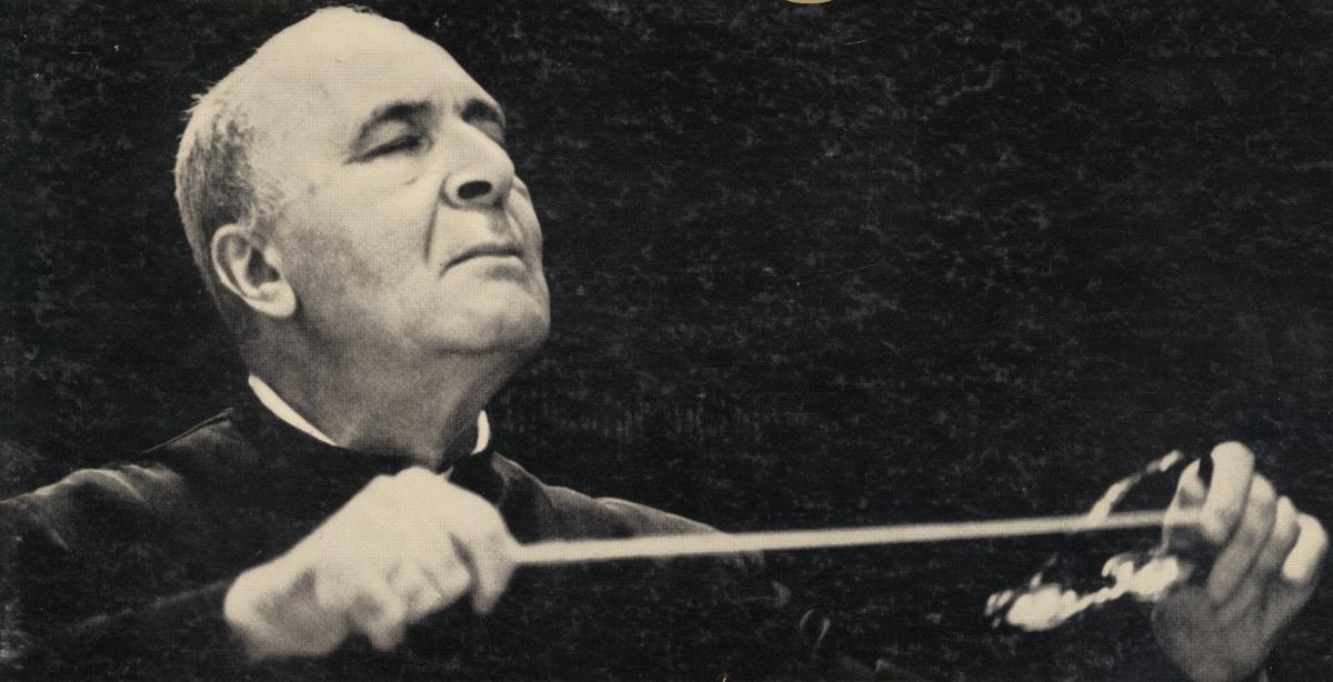 Bruno WALTER dans le début des années 1950, un portrait fait par Don Hunstein publié par exemple sur la pochette du disque Columbia Masterworks ML 5368