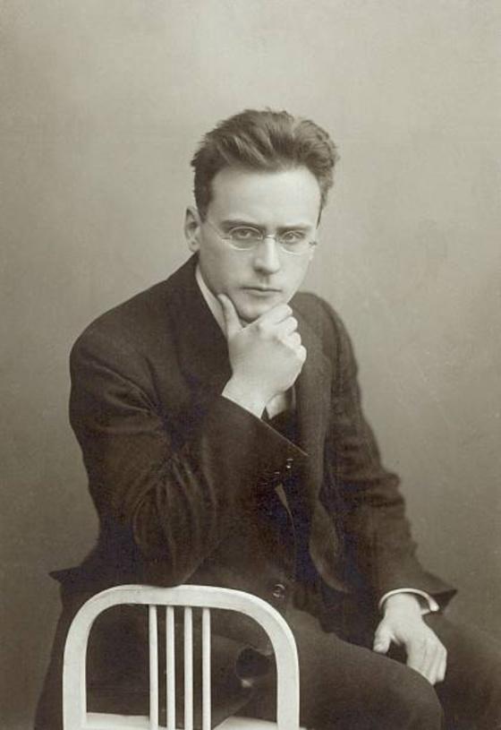 Anton WEBERN, env. 1908, photographe inconnu