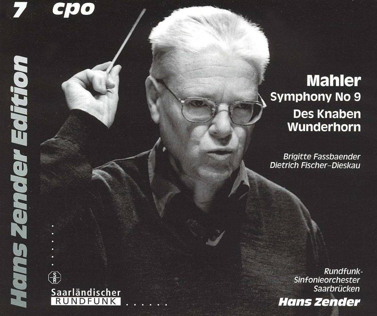 Hans ZENDER, pochette disque CPO