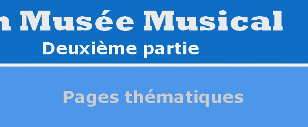 Logo Abschnitt Pages thematiques
