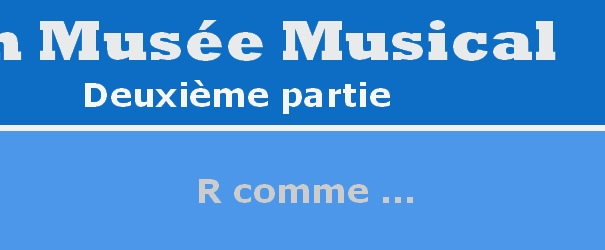 Logo Abschnitt R Repertoire