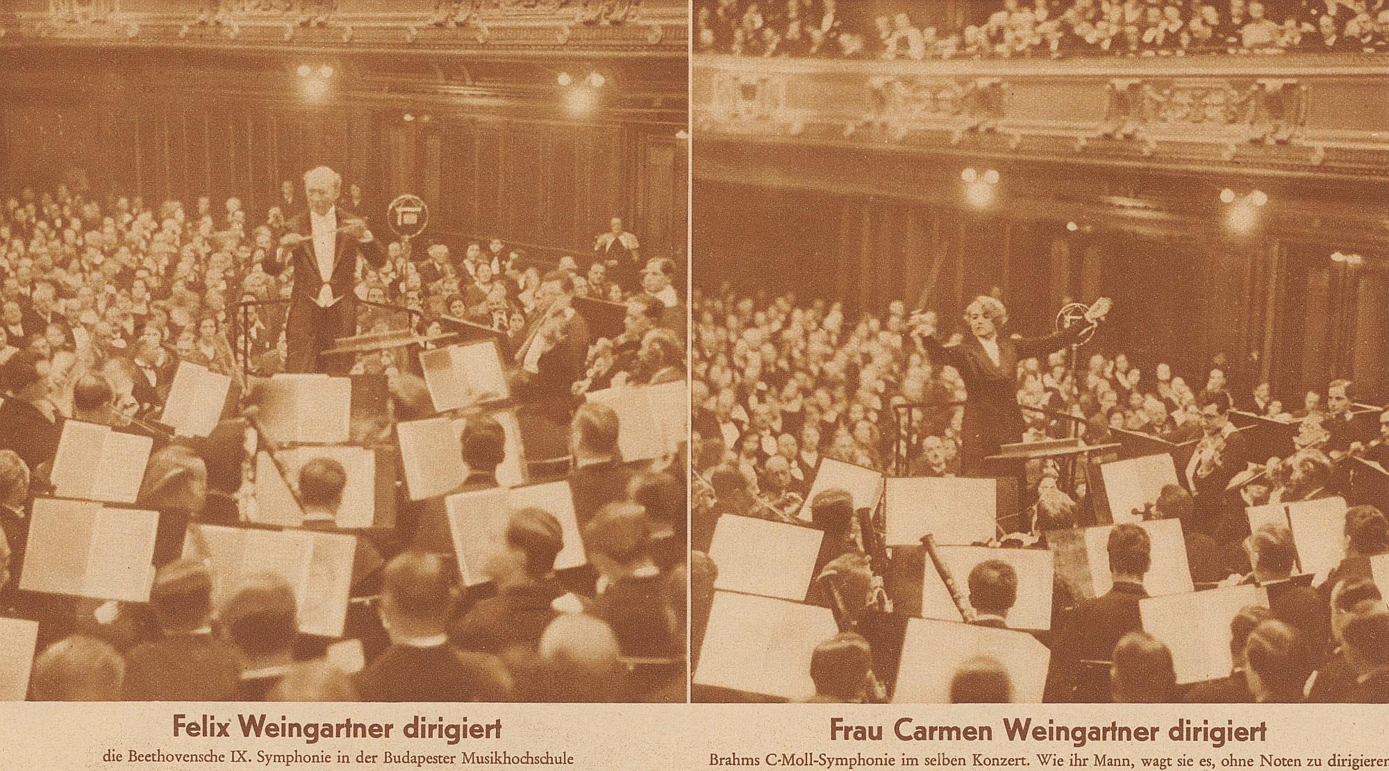 Weingartner Felix Carmen Budapester-Hochschule Zuercher Illustrierte 1932 Heft 8 Seite 247