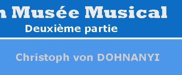 Logo Abschnitt Dohnanyi Chr