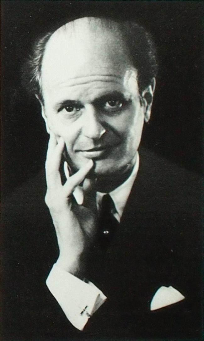 Ferenc FRICSAY, photo de presse DGG parue entre autres sur la pochette DGG LPE 17 178, Photographe: Legrand, Paris